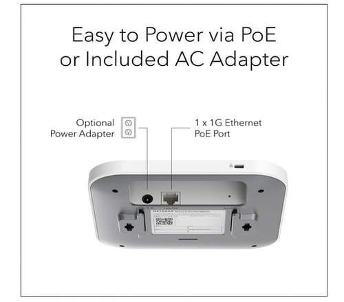 NETGEAR WAX214PA AX1800 Wireless Desktop Access Point