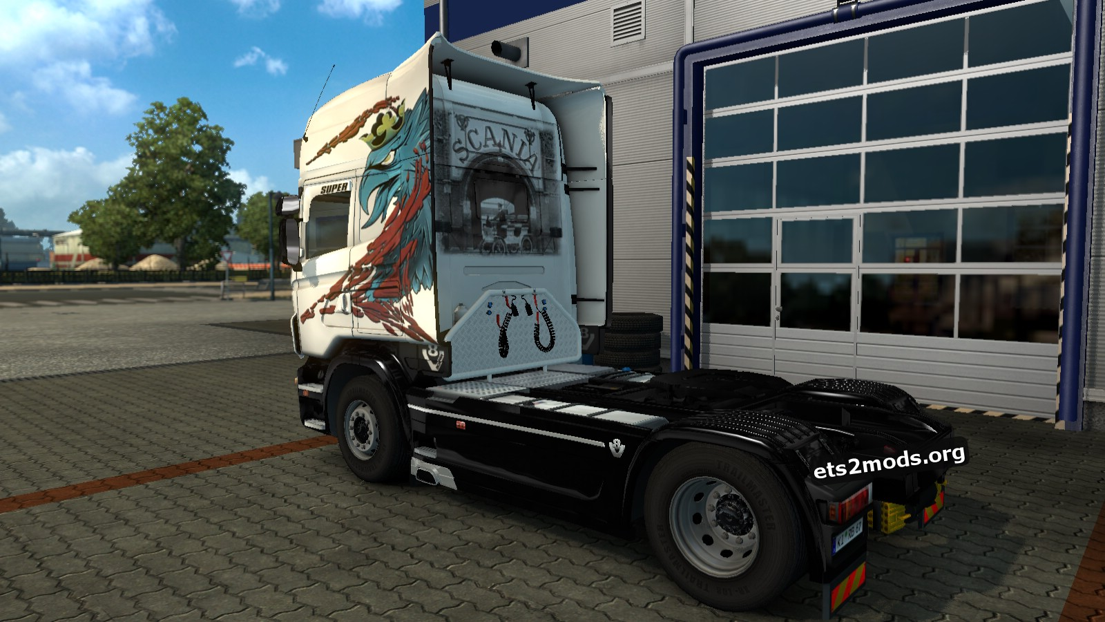 Old School Legacy Skin for Scania RJL