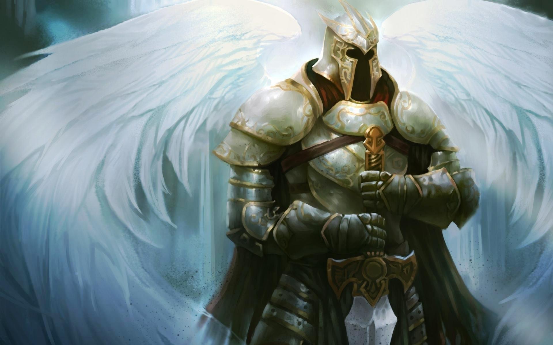 Angel Warrior Wallpaper