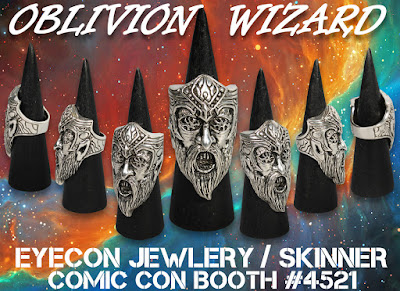 San Diego Comic-Con 2019 Exclusive Oblivion Wizard Ring by Skinner x Eyecon Cosplay