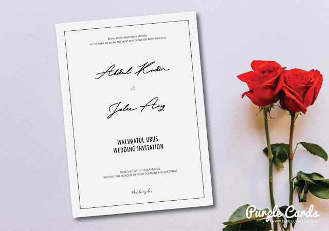 simple, white, black, wedding card, print, vendor, supplier, printing, digital, offset, art card, singapore, kuala lumpur, johor bahru, selangor, melaka, seremban, ipoh, perak, penang, kedah, kelantan, kad kahwin online, murah, 1000pcs, bentong, pahang, kuantan, terengganu, express, artwork, designer, bespoke, personalised, personalized, courier, cursive writting font, save the date, tie the knot, chinese malay, muslim