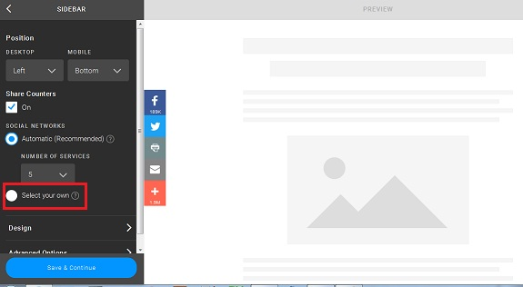 Cara Memasang Tombol Share di Blog