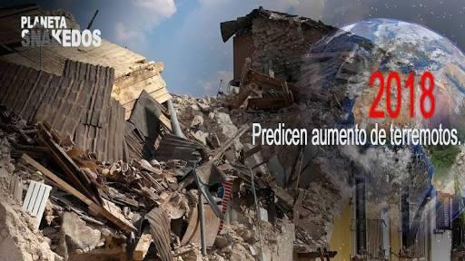 Predicen más grandes terremotos en 2018 por cambios en la rotación terrestre.