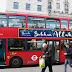 """Perkataan """"SUBHANALLAH"""" Terpampang Di Beratus-ratus Bas Merah London Sempena Ramadhan"""
