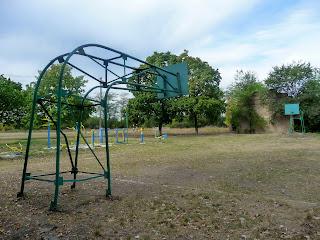 Клебан-Бык. Школьная спортивная площадка