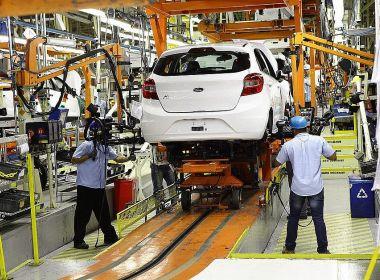 Ford na BA suspende por 90 dias contratos de 1.600 funcionários e terceirizados