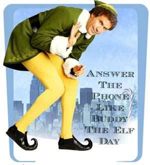 Answer The Telephone Like Buddy The Elf Day Wishes Sweet Images