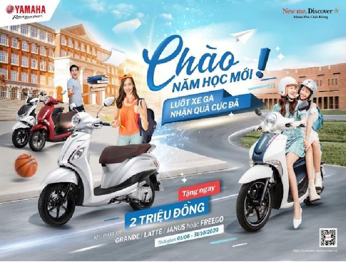 Yamaha Việt Nam Tặng 2 Triệu Đồng Cho Khách Mua Xe
