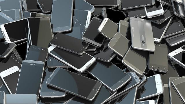 ilustrasi ponsel bekas
