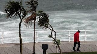 chuva de vento