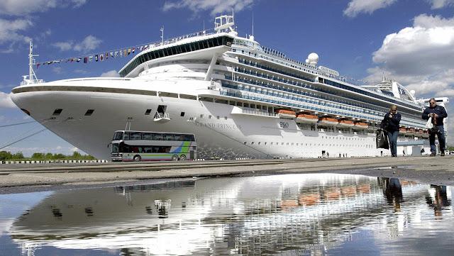 Bloquean un crucero con más de mil personas a bordo en la costa de California con 21 posibles casos de coronavirus