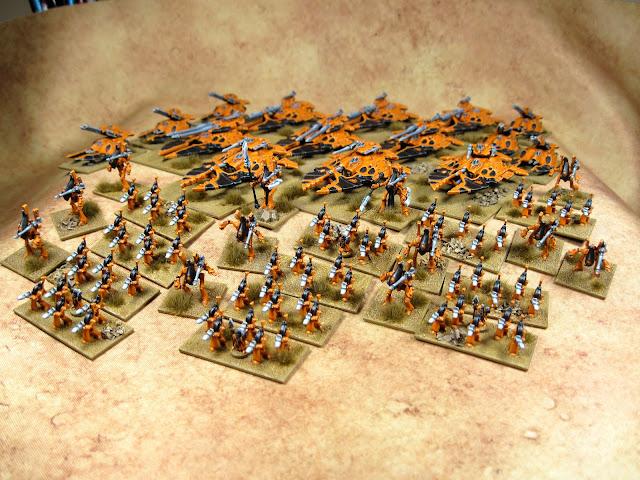 Epic Craftworld Lugganath Eldar