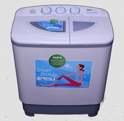 gambar mesin cuci sanyo