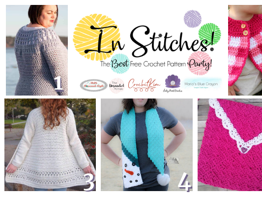 Top Best Free Crochet Patterns - In Stitches Link Up Party Week #29