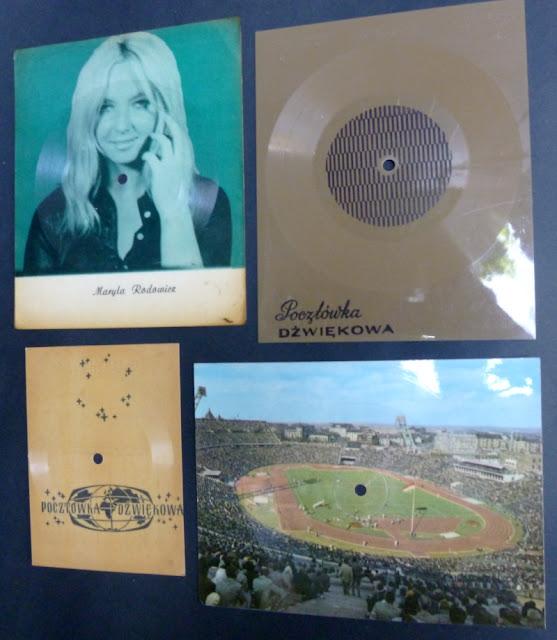 pocztówki dźwiękowe    postcard records