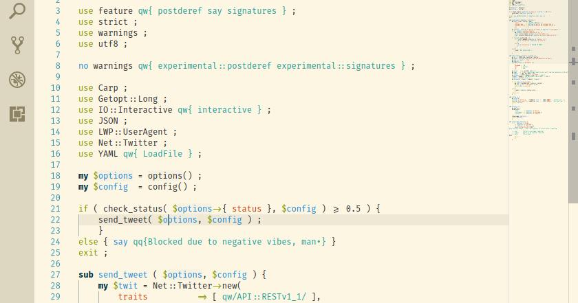 var/log/rant: Using VS Code and Ligatures