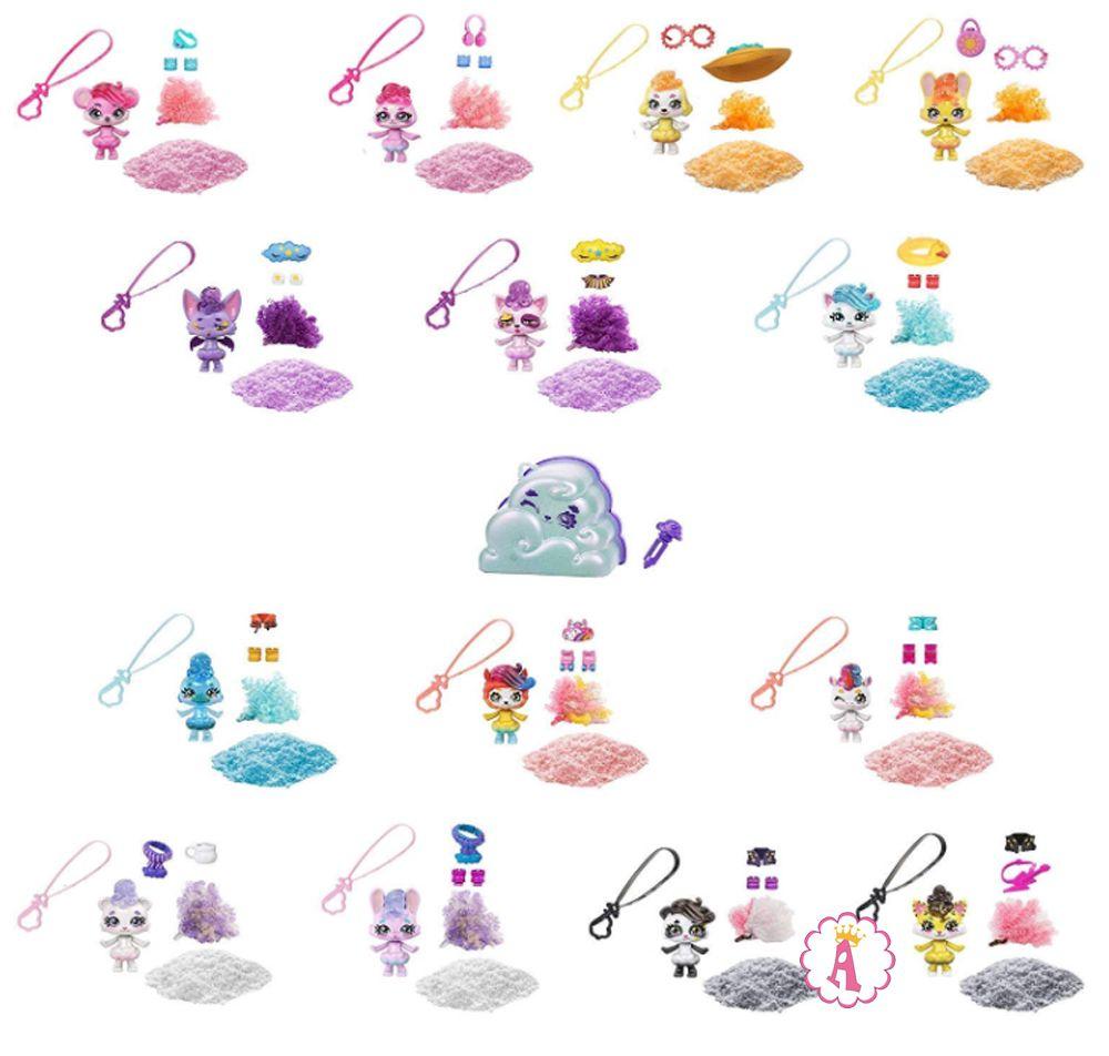 Коллекция игрушек питомцев Mattel Cloudees checklist