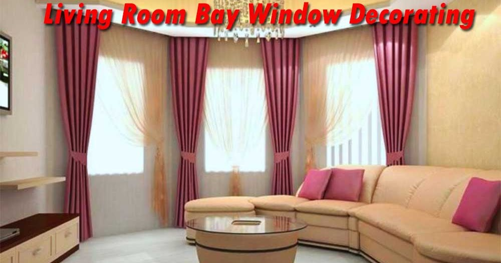 Large Bay Window In The Living Room Decorating Ideas My Lovely Home
