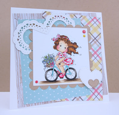 Heather's Hobbie Haven - On the Road Tilda Card Kit