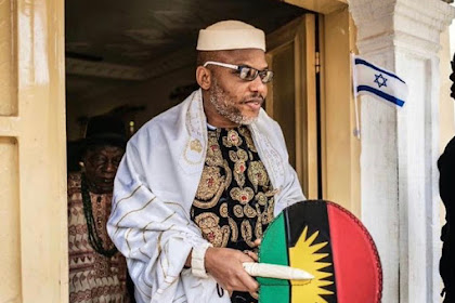 BREAKING : Nigerian Government Arrests IPOB Leader, Nnamdi Kanu