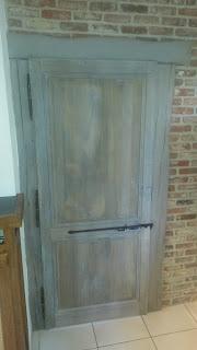 renovatie van een deur