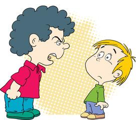 اعمل ايه لما ابني يضرب حد من اصحابه