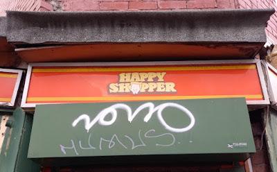 Happy Shopper on Sharrow Lane in Sheffield