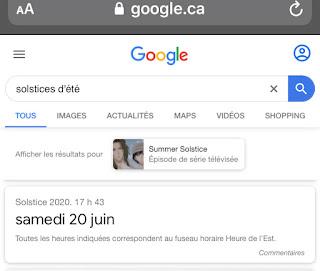 Google Recherche : raccourci date