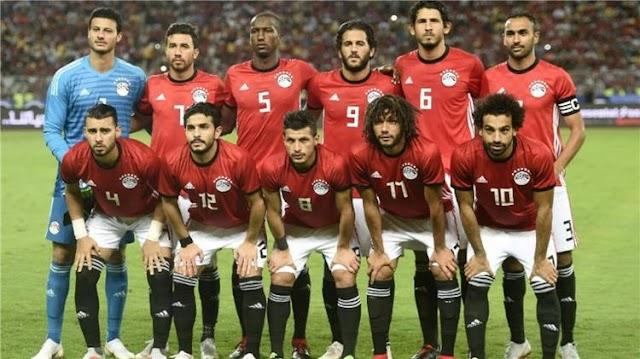 منتخب مصر يودع بطولة كاس الامم الافريقية بالهزيمة امام جنوب افريقيا