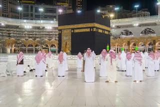 shaf renggang di masjidil haram