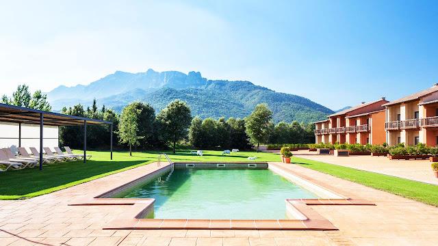 Hotel Vall de Bas en La Garrotxa