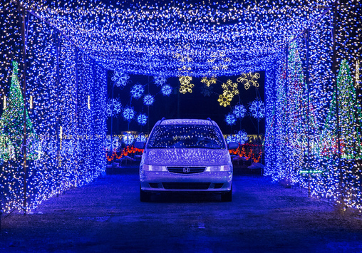 we all love to drive around and admire the christmas lights during the holidays christmas in color takes that beloved family tradition to a level that