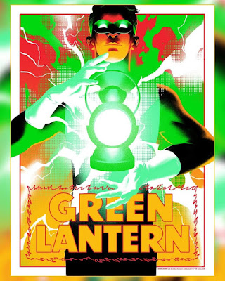 Thought Bubble Exclusive Green Lantern Screen Print by Matt Taylor x Uniquely Geekly x DC Comics