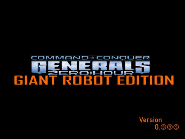 Generals: Giant Robot Edition