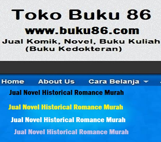 Jual Novel Historical Romance Murah