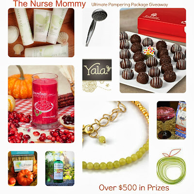 The Nurse Mommy: Fifth Birthday Bash Ultimate Pampering Package Giveaway