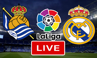 بث مباشر مباراة ريال سوسيداد و ريال مدريد في الدوري الاسباني