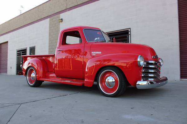 Nice Job Done, 1949 Chevy 3100 Truck