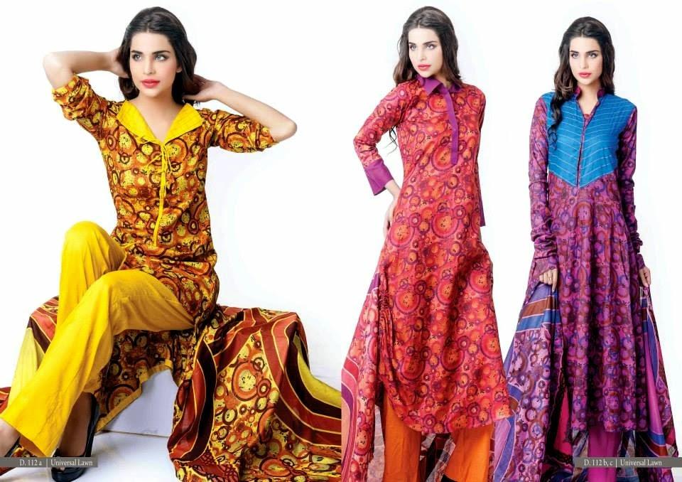 Lawn Dress Designing in Pakistan
