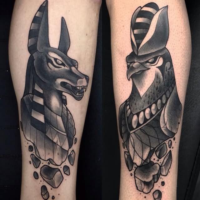 Imagen de tatuajes egipcios de la suerte