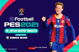 PES 2021 PS3 VR Patch Winter Transfer Update + Liga 1 Shopee PS3 PKG