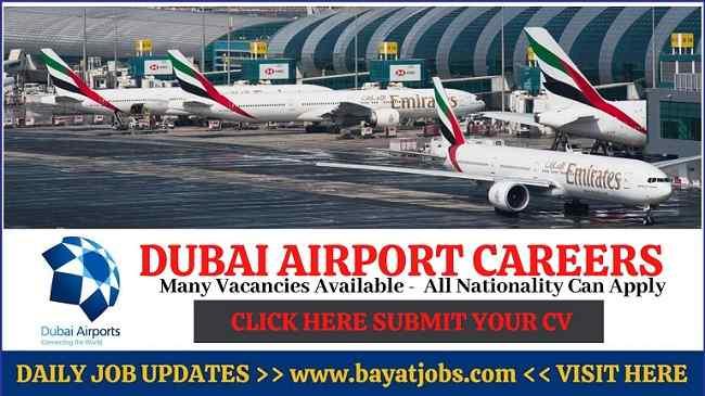 Dubai Airport Careers Latest Announced Jobs 2020