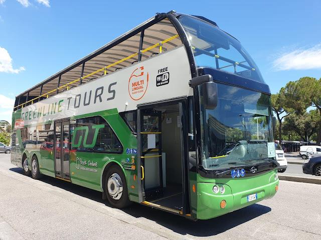 Roma, nuovo servizio bus Hop-On Hop-Off