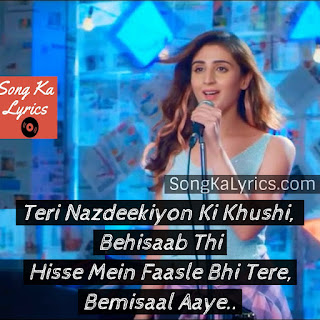 bekhayali-song-quotes-dhvani