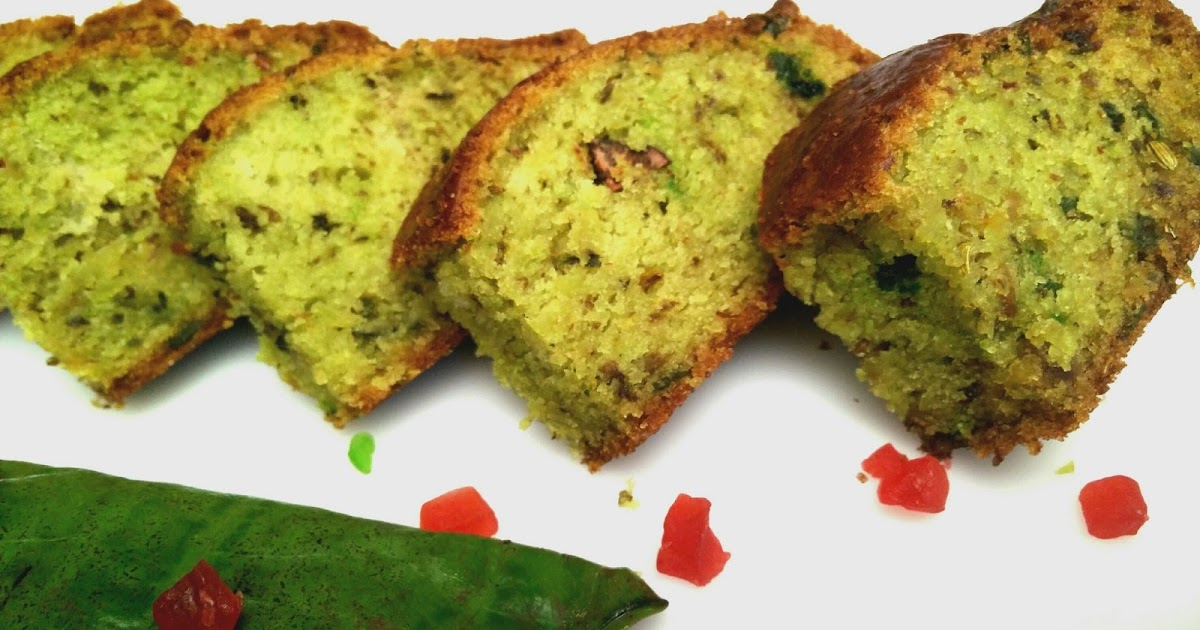 Cake Recipe With Kadai: Betel Leaf Flavoured Cake