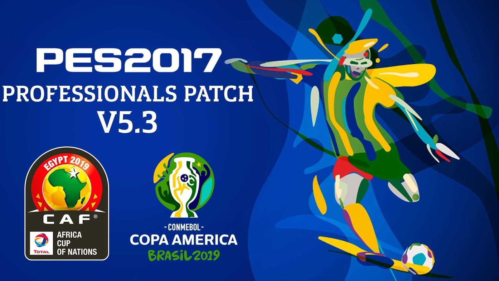 PesProfessionals Patch | V5 3 | Copa América Brasil 2019
