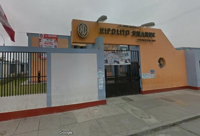 Escuela 0040 HIPOLITO UNANUE - Lima Cercado