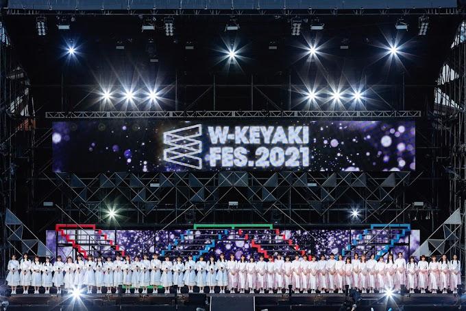 210711 W-KEYAKI FES.2021 『Sakurazaka46 & Hinatazaka46』DAY 3 Sub Indo