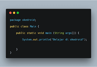 Contoh Code Java