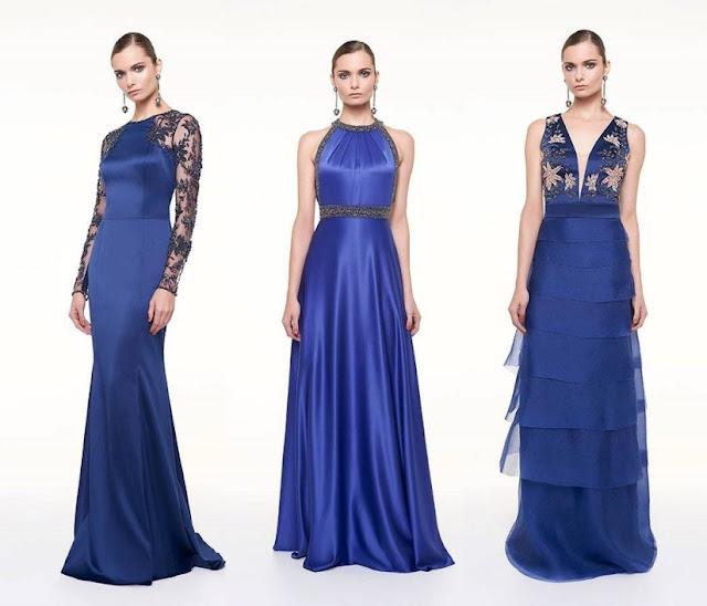 vestido de festa 2017 azul royal